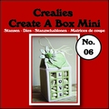 Crealies Create A Box MINI Snijmal nummer 6   CCABM06 per stuk
