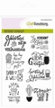 Craft Emotions Clear Stamp Teksten Nederlands 130501/1256
