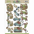 Yvonne Creations knipvel Moving Madness - Movers CD10873