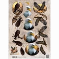 Amy Design knipvel Wild Animals - Eagles CD10867