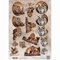 Amy Design knipvel Wild Animals - Big Five 1   CD10866