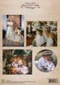 Nellie Snellen knipvel Color Vintage Beautiful Lady NEVI037