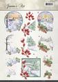 Jeanine's Art Knipvel Landscapes CD10885