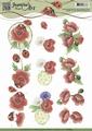 Jeanine's Art Knipvel Voorjaarsbloemen CD10845