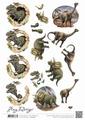 Amy Design knipvel Dinosauriërs CD10907
