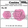 Crealies Combies Clear Stempel + Snijmal CLCB03