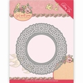 Yvonne Creations Die Get well Soon - Doily YCD10101
