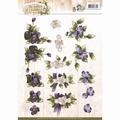 Precious Marieke knipvel Flowers CD10903