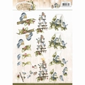Precious Marieke knipvel Birds CD10902