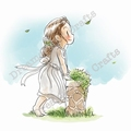 Dreamersland Crafts Cling Stamp Good news is coming D17008