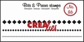 Crealies Clear Stamp Bits & Pieces nr. 86  CLBP86