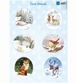 Marianne Design Knipvel Forest Animals - Fox VK9563