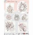 Marianne Design Knipvel Winter Dream - Pink EWK1252