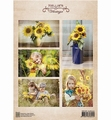 Nellie Snellen knipvel Vintage Sunflowers NEVI079