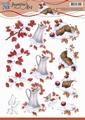 Jeanine's Art Knipvel Winter Berries CD10843