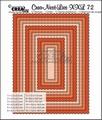 Crea-Nest-Lies set mallen nummer 72 XXL   CLNest72XXL per stuk