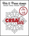 Crealies Clear Stamp Bits & Pieces nr. 118  CLBP118