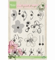 Marianne Design clear stamp Tiny's Helleborus layeringTC0861