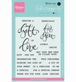 Marianne Design Clear Stamp Karin Joan Gift of Love KJ1718