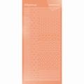 Hobbydots Sticker - Mirror - Salmon STDM12K per vel