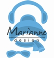 Marianne Design Creatables Kim's Buddies Winter Set LR0499 per stuk