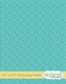 Taylored Expressions Embossing Folder Quatrefoil TEEF60