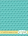 Taylored Expressions Embossing Folder Swiss Hearts TEEF39