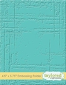 Taylored Expressions Embossing Folder Weathered TEEF31