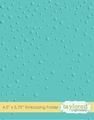 Taylored Expressions Embossing Folder Snowfall TEEF09
