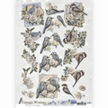 Amy Design knipvel Vintage Winter - Winter Birds CD10984