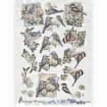 Amy Design knipvel Vintage Winter - Winter Birds CD10984