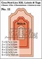 Crealies XXL Labels & Tags nr. 11 Stitch  CLLT11