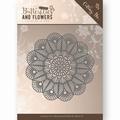 Jeanine's Art Snijmal Butterflies & Flowers - Doily JAD10022