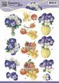 Jeanine's Art Knipvel Springflowers 3    CD10853