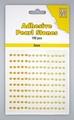 Nellie Snellen Adhesive Pearls 3 mm, 3 kleuren Yellow APS304