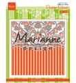 Marianne Design Embossing Folder Anja's Orna. Border DF3443