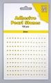 Nellie Snellen Adhesive Pearls 2 mm, 3 kleuren Yellow APS204