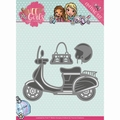 Yvonne Creations Die Sweet Girls - Scooter YCD10120
