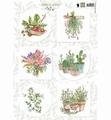 Marianne Design Knipvel Herbs & Leaves 2    EWK1255