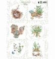 Marianne Design Knipvel Herbs & Leaves 1    EWK1254