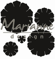 Marianne Design Craftables Succulent (round) CR1430