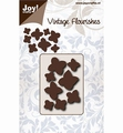 Joy Crafts Snijmal Vintage Flourishes Hydrangea  6003/0080 per stuk