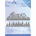 Jeanine's Art Snijmal Wintersports - Mountain Borde JAD10029