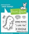 Lawn Fawn Clear Stamp RAWR LF1555