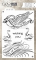 "Coosa Crafts Clear Stamp ""Lots of Love"" COC-032 per stuk"