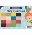 Joy! Crafts Papierset Dendennis Crochet Colors 6011/0554