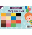 Joy! Crafts Papierset Dendennis Solid Colors 6011/0553