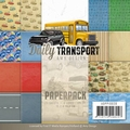 Amy Design Paper pack - Daily Transport ADPP10020