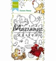 Marianne Design clear stamp Hetty's Chicken Family HT1631