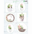Marianne Design Knipvel Tulips & Willow Cats VK9565